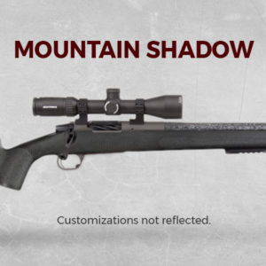 Custom Rifle Mountain Shadow