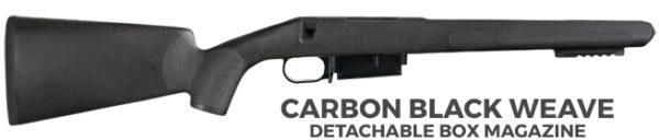 Carbon Black Weave with Box Mag